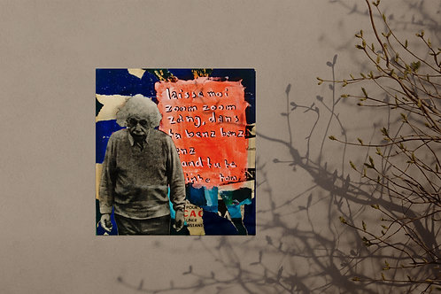 NTM, collage sur bois, hommage au rap français