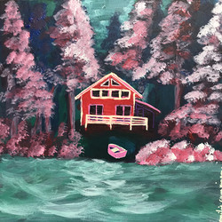 La cabane rouge