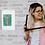 Thumbnail: LA SIRENE EPILEE, collage sur papier, tableau humoristique, vendu encadré