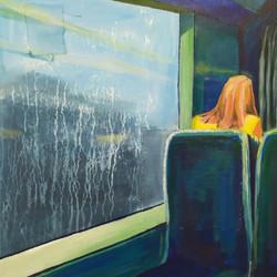 Dans le tramway