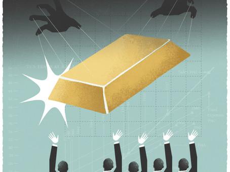 El Oro alcanza su máximo histórico tras la respuesta fiscal al COVID-19