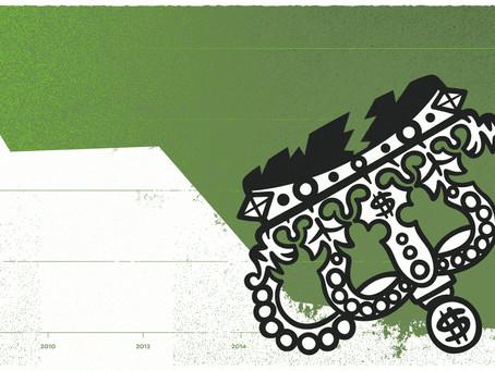 ¿Llegó el fin del reinado de las empresas de baja capitalización bursátil?