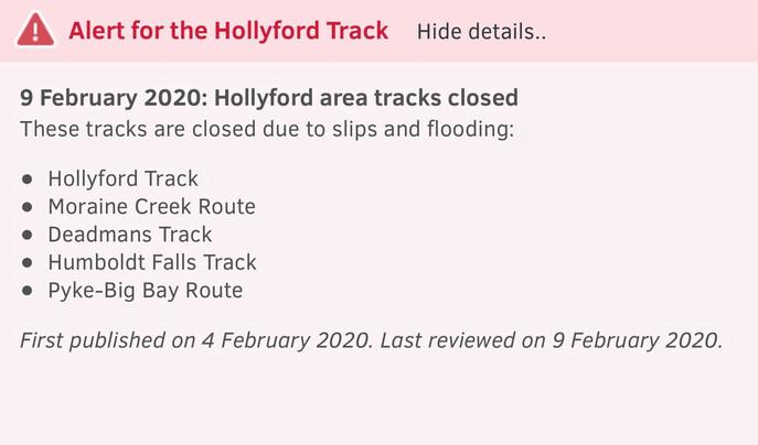 Hollyford Track