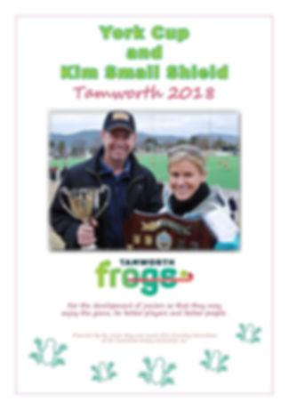 2018 York Cup Kim Small Shield Program