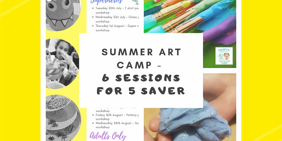 Art Summer Camp 6 for 5 Saver