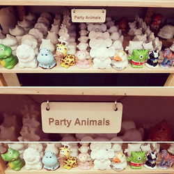Party Animals at Crafty Owls Pottery
