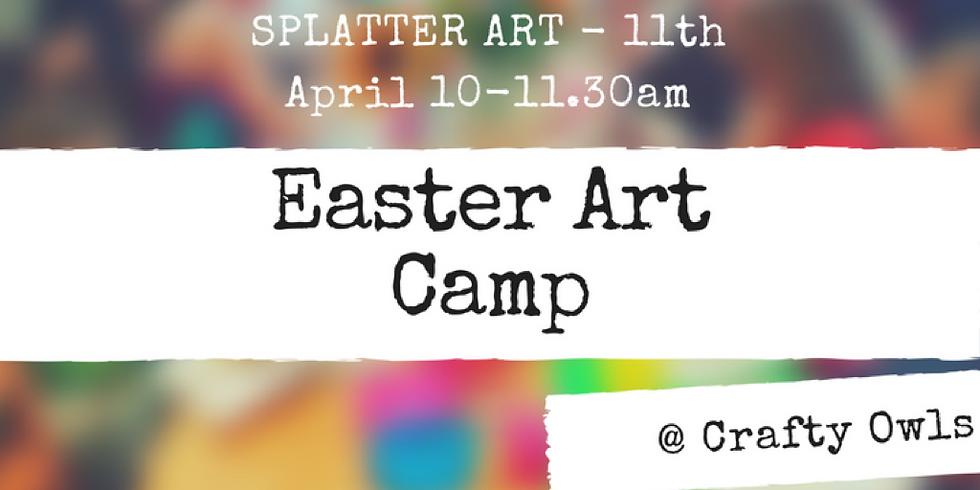 Crafty Kids Splatter Workshop (1)