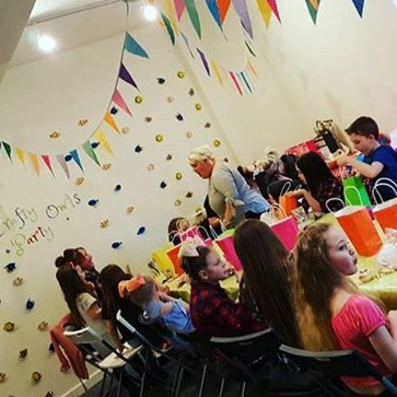 Parties at Crafty Owls Pottery are the #