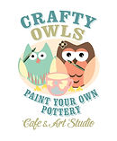 Crafty Owls paint your own pottery studio Ossett Wakefield art studio nr Leeds Yorkshire