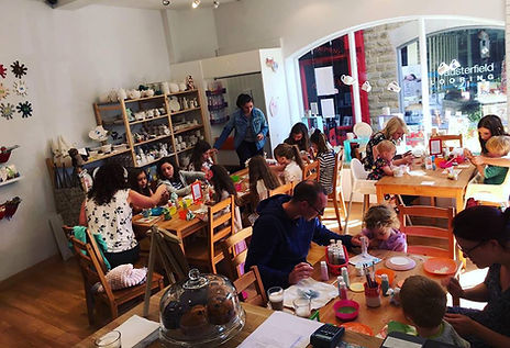 Pottery studio, tshirt painting, small to huge parties, clay workshop, potters wheel, children & adults in Yorkshire,Wellgate Ossett