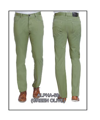 Alpha-58 Green Olive