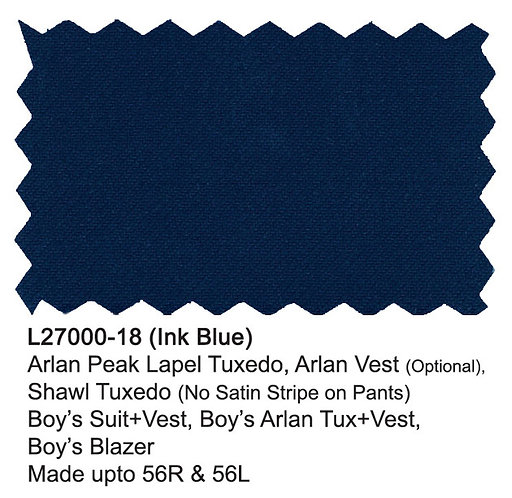 L27000-18-London Fog Boys Suit-Ink Blue