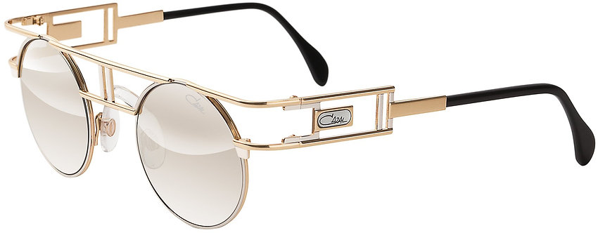 Cazal Legends 953 Bi-Color with Silver Mirror Lenses