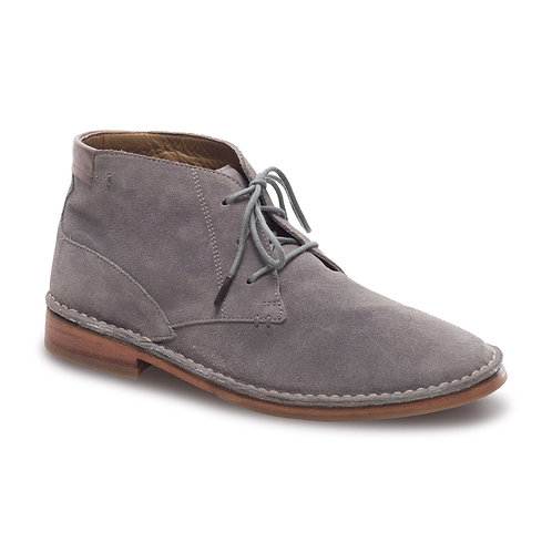 J.Shoes Haggerston Gray Suede Chukka Boot
