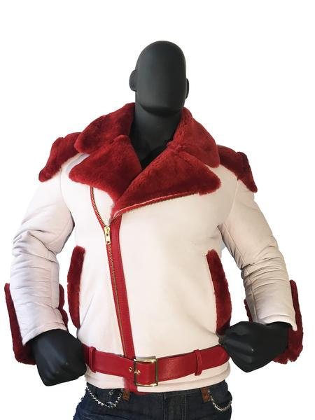 Outerwear Red/White