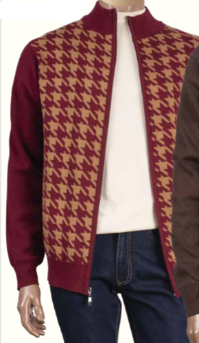 Inserch Full-Zip Sweater