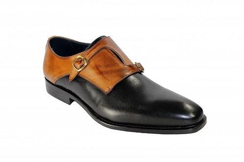 Black/Cognac Shoes