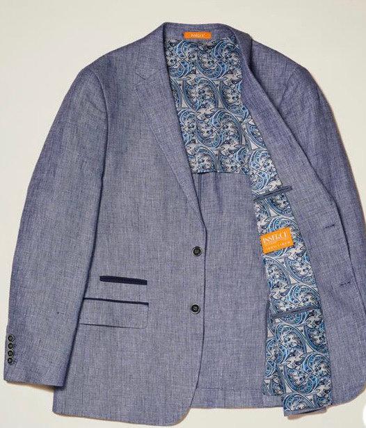 Linen Yarn-Dye Blazer