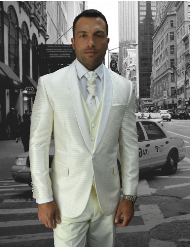 Offwhite Suit