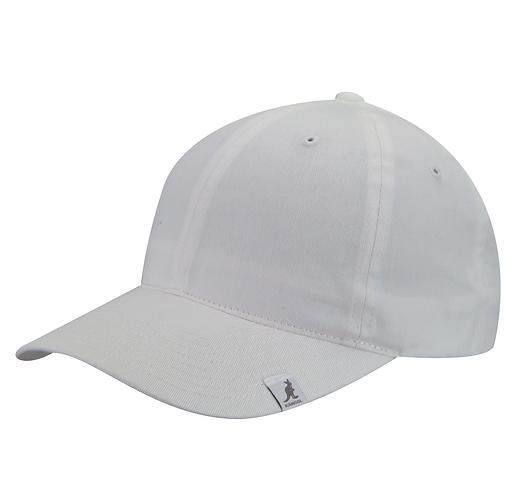 Cotton Adjustable Baseball White