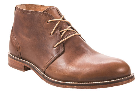 J. Shoes Monarch Ambra Brown Leather Chukka Boot