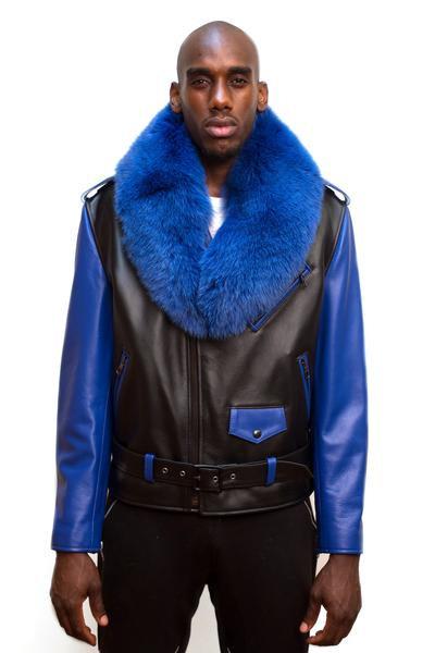 Outerwear Blue/Black