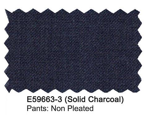 E59663-3-Enzo Pants-Solid Charcoal