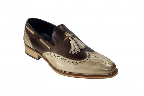 Taupe/Chocolate Shoes
