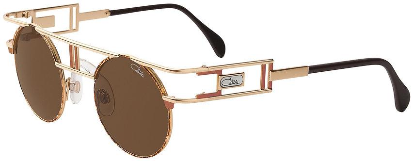 Cazal Legends 953 Demi Amber/Gold & Brown Lenses