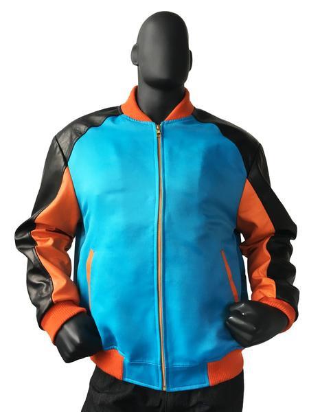 Outerwear Blue/Orange/Black