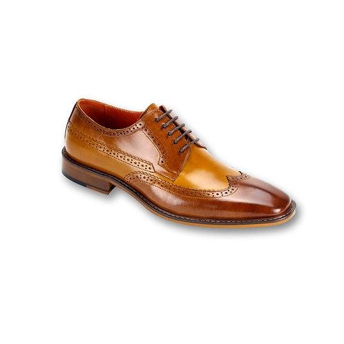 SL0007 Tan Genuine Leather Shoe
