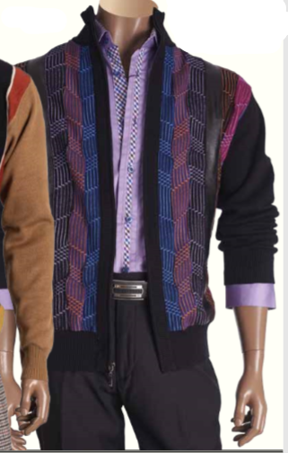 Inserch Striped Sweater