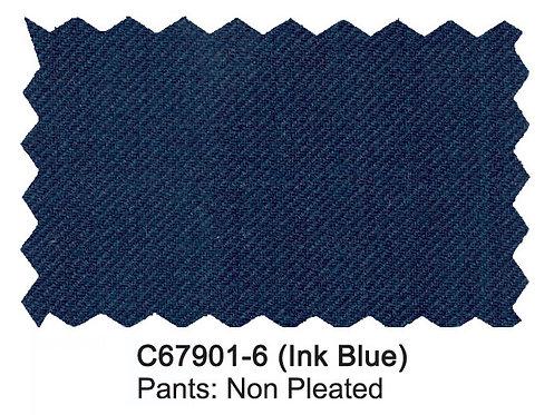C67901-6-Carlo Lusso Pants-Ink Blue