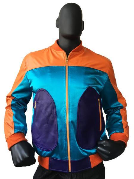 Outerwear Orange/Turques/Purple