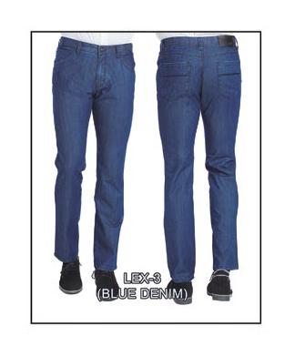Lex-3 Blue Denim