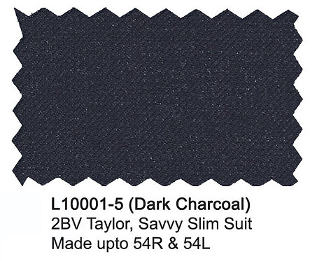 L10001-5-London Fog Suit-Dark Charcoal