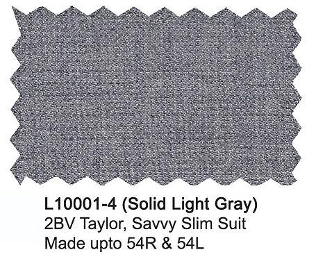 L10001-4-London Fog Suit-Light Gray