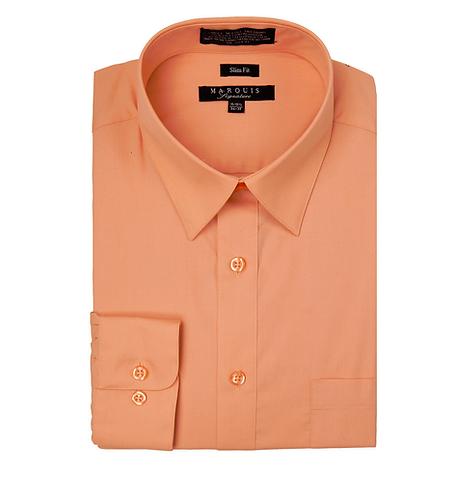slim fit dress shirt Apricot