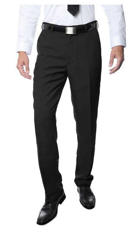 Premium Quality Mens Black Regular Fit Formal & Business Pants