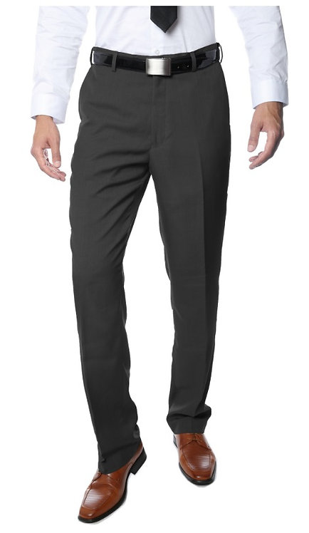 Premium Quality Mens Charcoal Regular Fit Formal & Business Pants