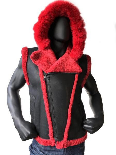 Outerwear Black/Red