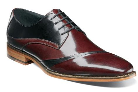 Burgundy Multi Shoes