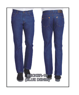 Becker-1B Blue Denim