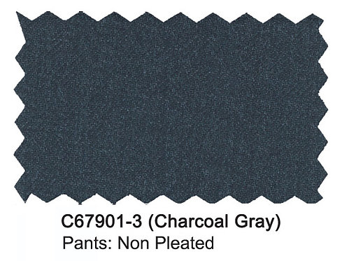 C67901-3-Carlo Lusso Pants-Charcoal Gray