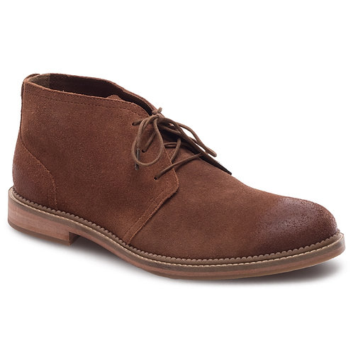 J.Shoes Haggerston Brown Suede Chukka Boot