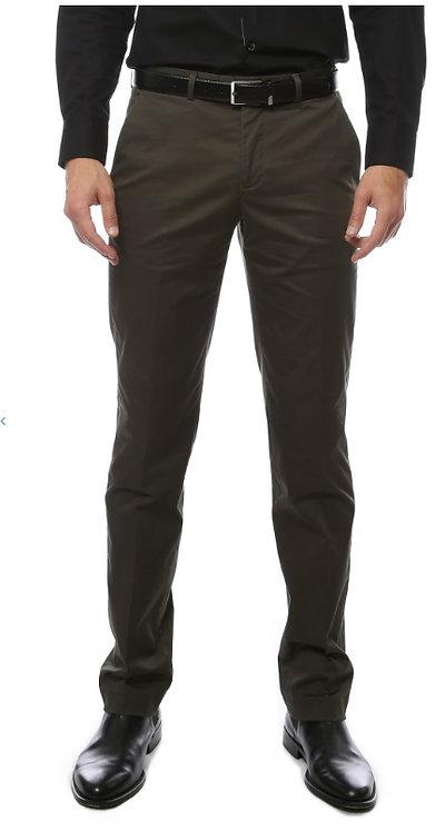 Zonettie Kilo Hunter Green Straight Leg Chino Pants