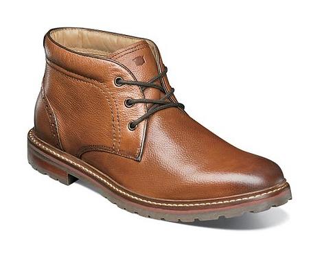 Cognac Tumbled Boots