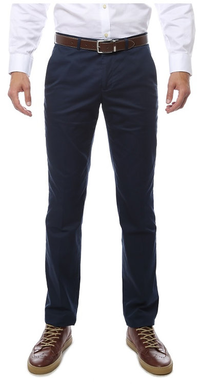 Zonettie Kilo Navy Straight Leg Chino Pants