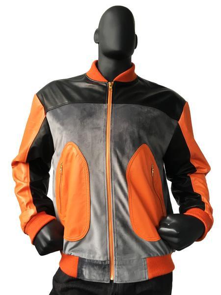 Outerwear Orange/Black/Gray