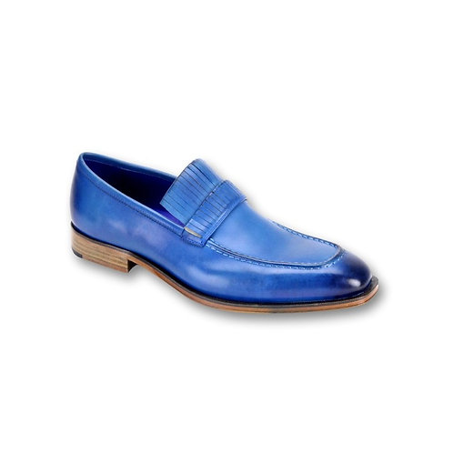 SL0003 | Alaska Blue Genuine Leather